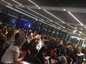Audience at the Careers Club event